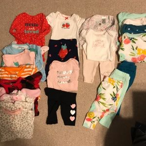 EUC/GUC newborn bundle 21 pieces